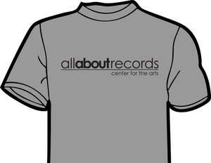Image of allaboutrecords center for the arts t-shirt