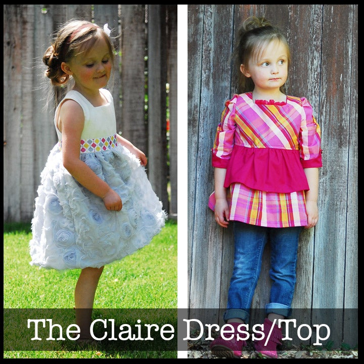 """Image of The """"Claire"""" Top/dress"""
