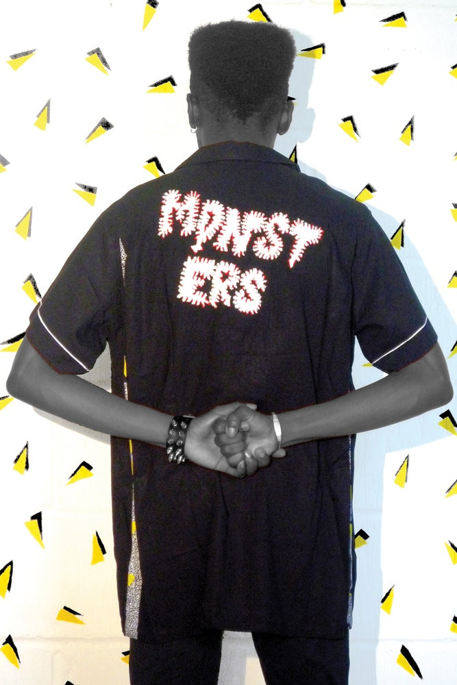 Image of Monsters Bowling Shirt