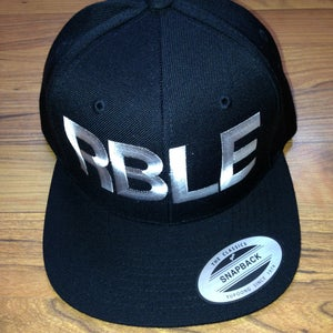 """Image of Classic RBLE Snapback """"Black & White"""""""