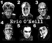 Image of Eric O'Neill Classic Monster Prints