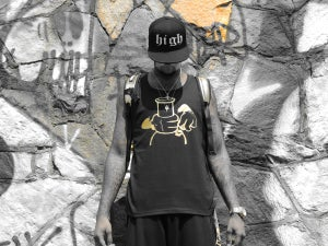"Image of PRiVe ""Smokers Club"" Gold tank"