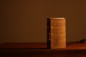 Image of Nightstand Wooden Lamp