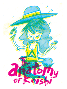 Image of The Anatomy of Koishi Stickers