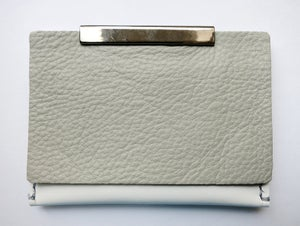 Image of Color Blindness - Card Holder(Grey cover/ White)