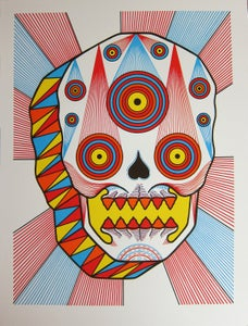 "Image of ""Cosmic Skull"" - David Cook"