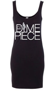 Image of DJ Dimepiece Fitted Tank Dress