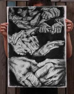 Image of Hand Study - Original