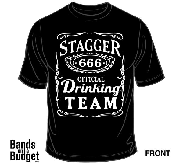 Image of Stagger Drinking Team Tee's