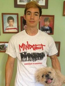 "Image of ""Go Vegetarian"" Grey T-Shirt"