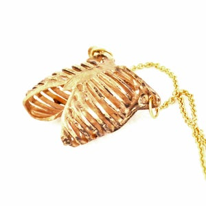 Image of Ribcage antique bronze