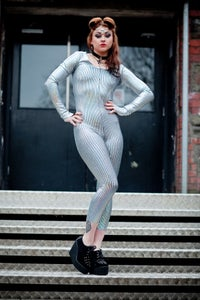 Image of Mirror Ball Catsuit