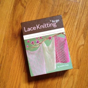 Image of Lace Knitting To Go By Andrea Tung