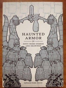 "Image of NATE DENVER'S NECK ""Haunted Armor"" Book + Album"