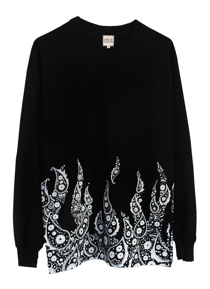 Image of Bandana Flame Long Sleeve