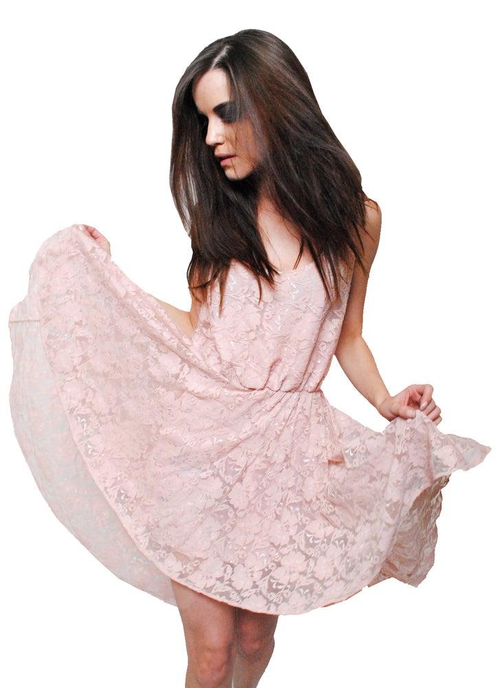 Image of Lace Fishtail Dress