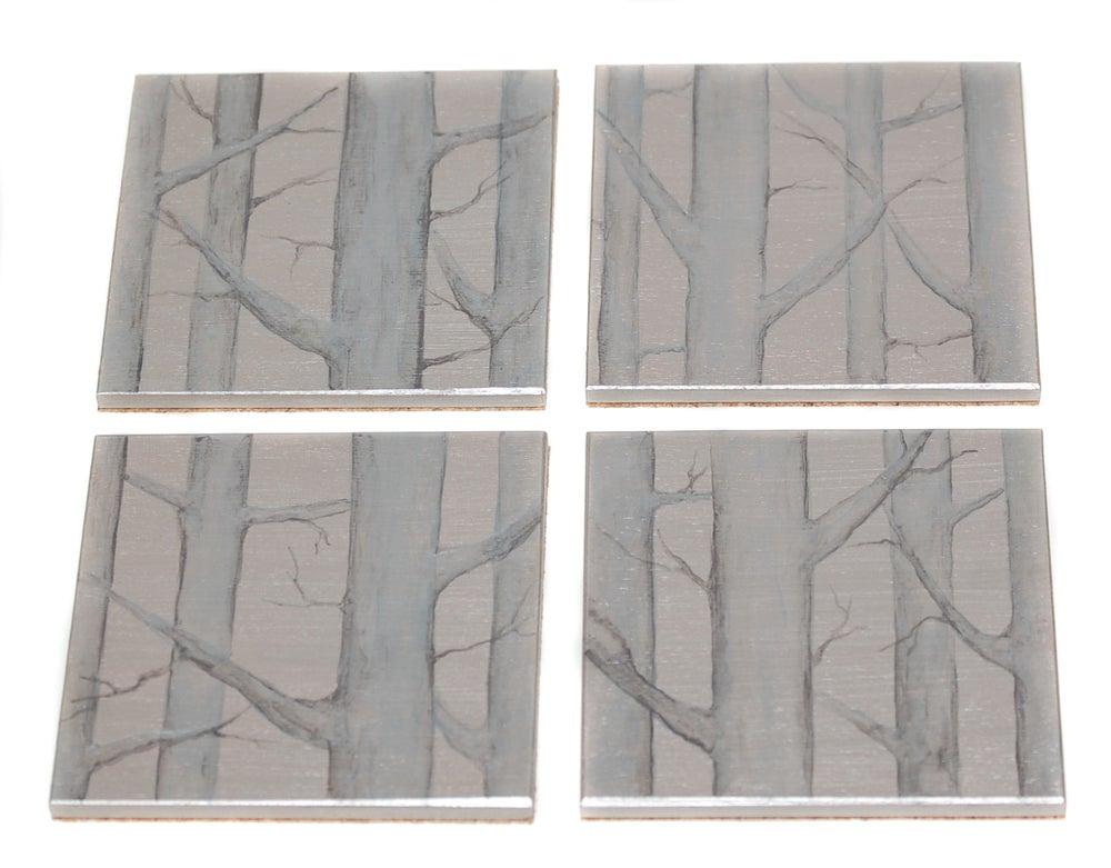 Image of Coasters ~ Trees