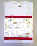 Image of DUB STEP Logo White Mens T-shirt