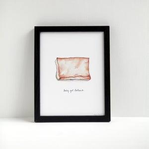 Baby Got Fatback - Archival Pork Print by Alyson Thomas of Drywell Art. Available at shop.drywellart.com