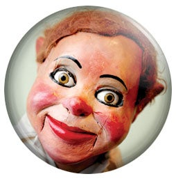 """Image of Cecil Sinclaire 1"""" button"""