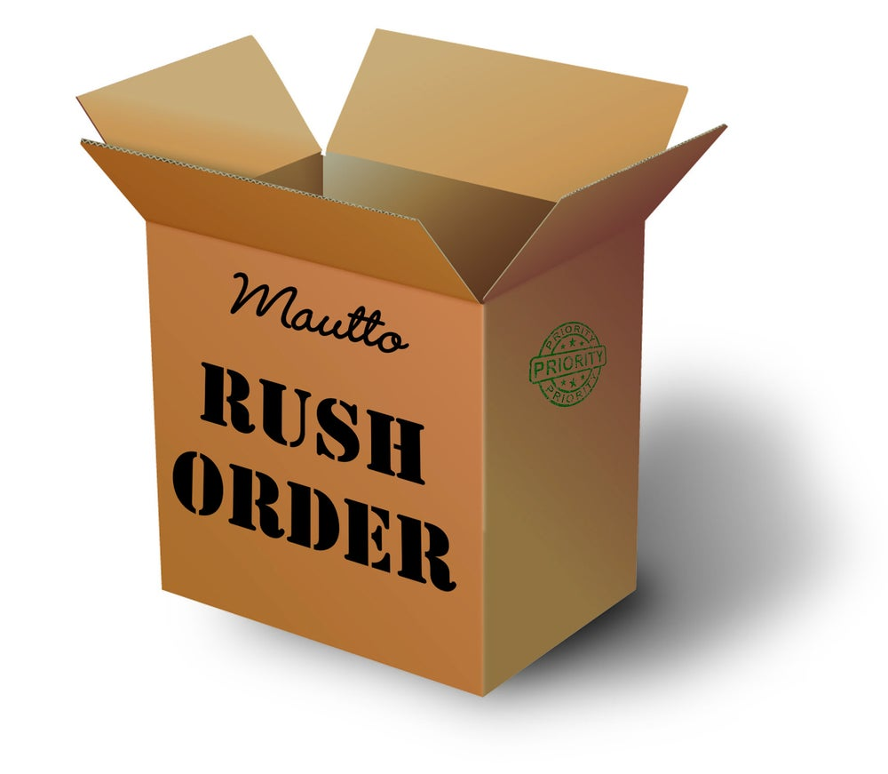 Image of Rush Processing + Expedited Shipping Add-on
