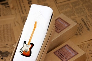 Image of Men's single Handkerchief: Guitar