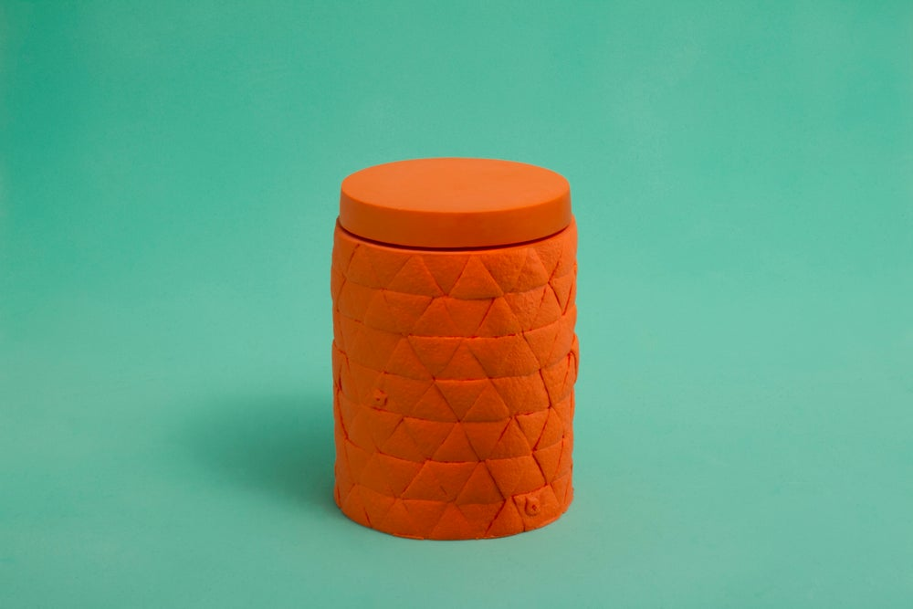 Image of Orange Jar, Fruit Wares