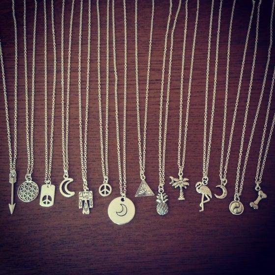 Image of Mini charm necklace