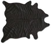 Image of 676685001382 Togo zebra black on black