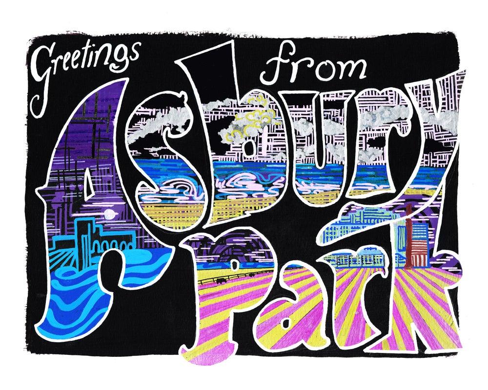 Image of Greetings From Asbury Park, Black
