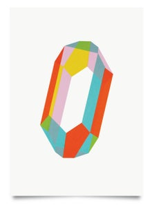 Image of Quartz Candy print