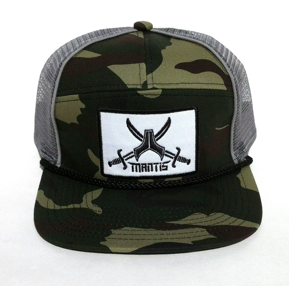 Image of ON SALE !!!  SIGNATURE 5 PANEL CAMO SNAPBACK