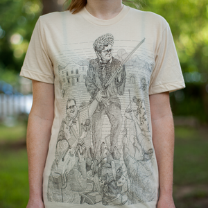 Image of LIMITED EDITION SCREENPRINT T-SHIRT