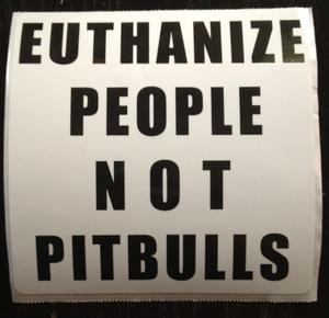 Image of Pitbull Sticker