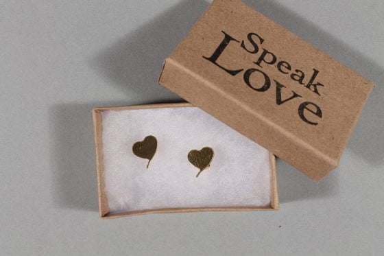 Image of Speak Love Earrings