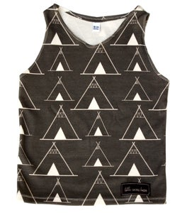 Image of Teepees Tank Top by Little Cocoa Bean