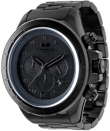 Image of Vestal zr3 brushed black chronograph