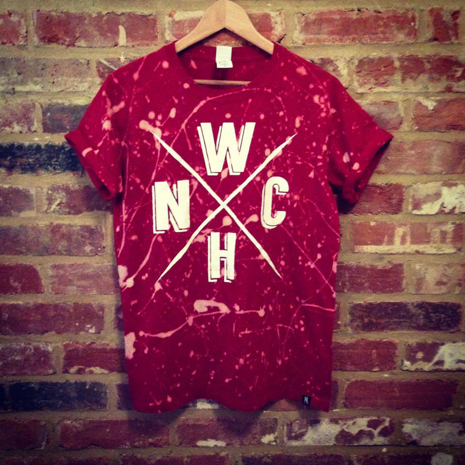 Image of WNCH Splatter Tee.