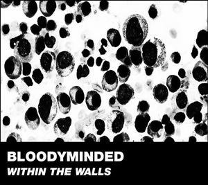 """Image of B!176 BLOODYMINDED """"Within The Walls"""" CD"""