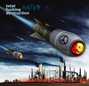 Image of Total Fucking Destruction - Hater CD
