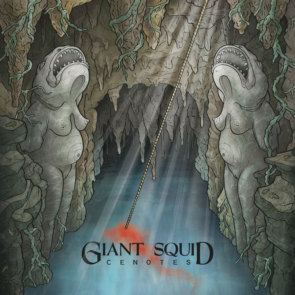 Image of Giant Squid - Cenotes CD