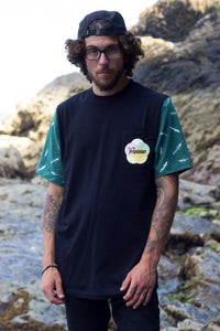Image of Feathers Cut and Sew Pocket T-shirt