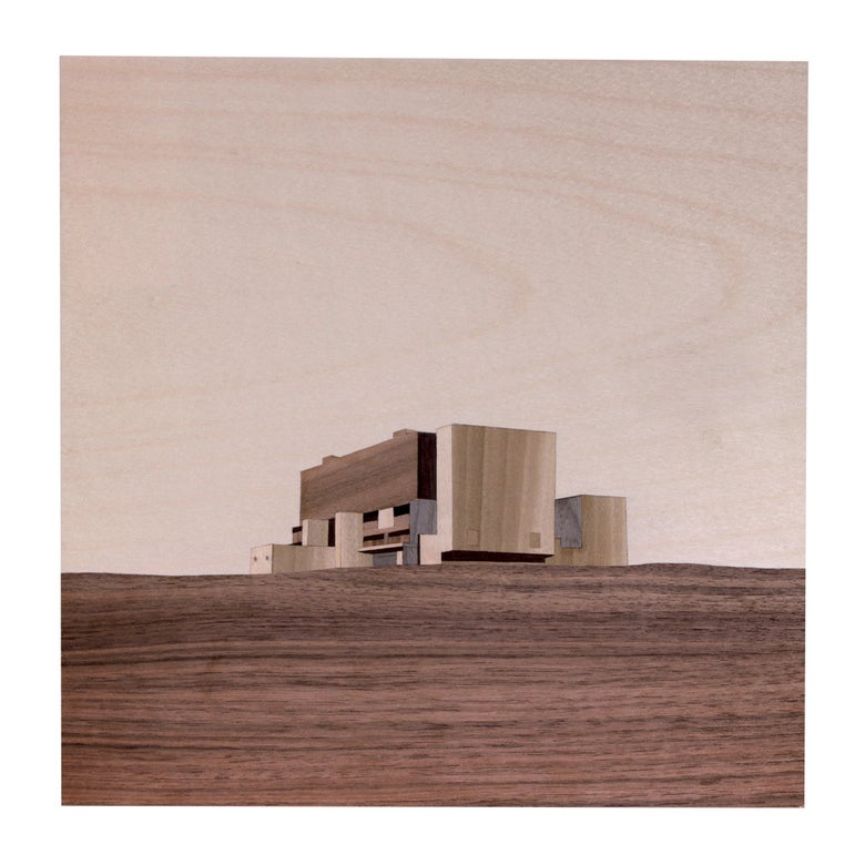 Image of Torness Nuclear Power Station- 21 x 21cm Digital Print