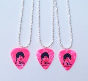 Image of Anson Li Guitar Pick Necklace (Pink)