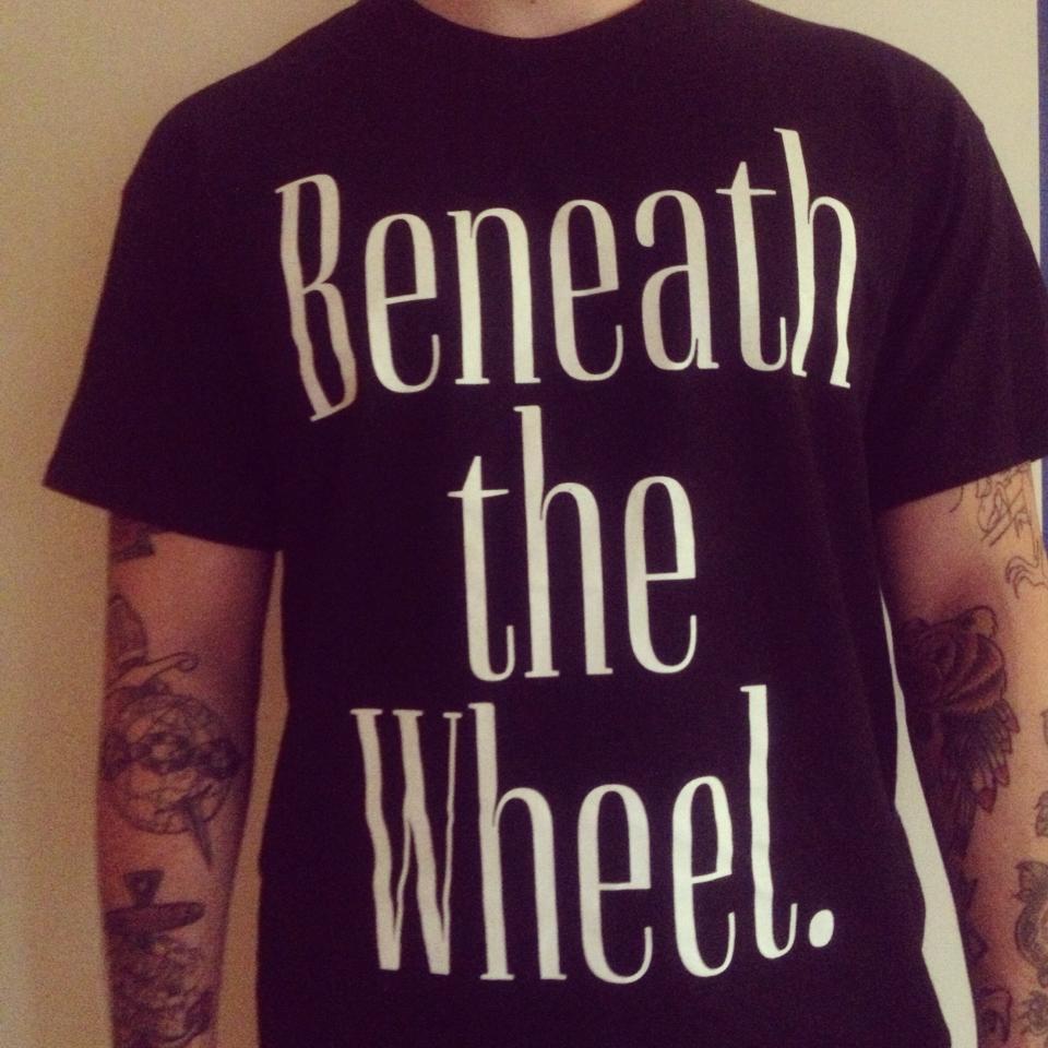Image of Beneath The Wheel shirt black