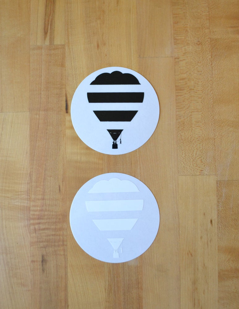 Image of Safe Air-balloon Stickers