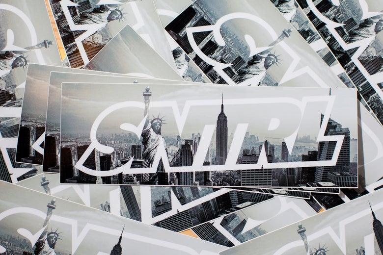 "Image of ""SNTRL NY"" Box Sticker"