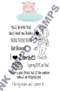 Image of Zombie Stamp set