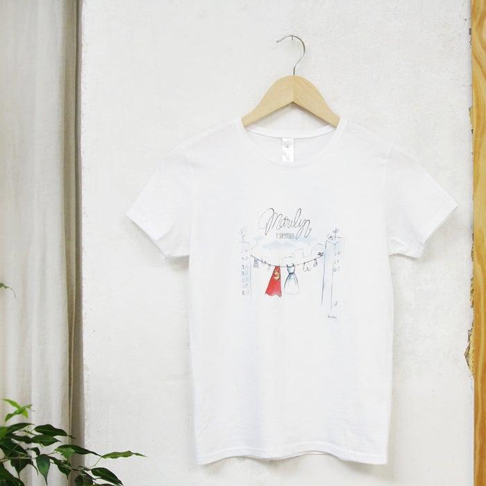 """Image of Camiseta """"Marilyn y Superman"""""""