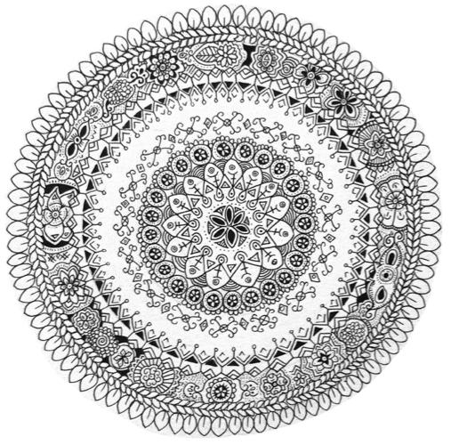 Image of Mandala Sunny